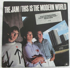 THE JAM -THIS IS THE MODERN WORLD- ORIGINAL 1977 POLYDOR LP WLP PROMO 1ST PRESS