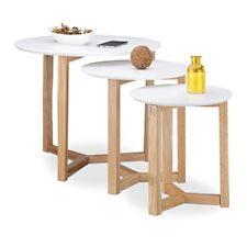 Tables d'appoint en chêne pour le bureau
