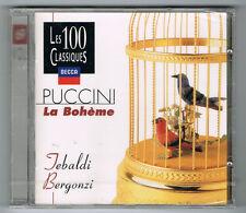 PUCCINI - LA BOHÈME - TEBALDI - BERGONZI - CD NEUF NEW NEU