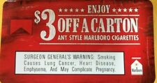 Coupon $3.off Marlboro carton cigarettes $2 off pack&$3 0ff 4 packs/cart 6/30/20