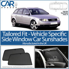 Audi A4 B6 & B7 Avant 2001-2008 CAR SHADES UK TAILORED UV SIDE WINDOW SUN BLINDS