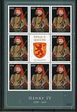 Gambie 2012 MNH rois & reines d'Angleterre Henri IV 8v M/S Royalty timbres