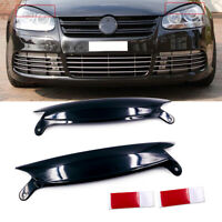 2x ABS Headlight Cover Eyelids For VW GOLF GTI JETTA R32 RABBIT MK5