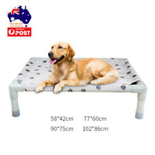 Pet Dog Cat Puppy Elevated Bed Heavy Duty Raised Trampoline Washable Hammock