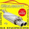 FRIEDRICH MOTORSPORT V2A SPORTAUSPUFF Chevrolet Trax Frontantrieb+Allrad 1.4 T