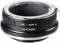 K&F Concept Lens Mount Adapter for Pentax K PK Mount Lens to Canon EOS R Cameras