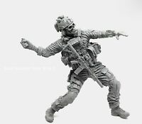 █ 1/35 Resin Black Skeleton US Seals Soldier Unpainted Unassembled YF094