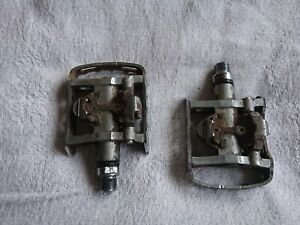 Used Pair of Shimano PD-M324 SPD Pedals. Dual Sided.