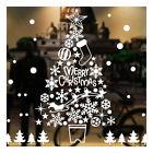 Christmas Xmas Santa Window Stickers Art Decal Wall Home Shop Decor Uk