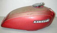 Vintage KAWASAKI KZ400 Red Motorcycle Fuel Gas Tank