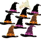WITCH HATS BRADS   ** SEE MY STORE ** 2 COLORS  HALLOWEEN  EYELET OUTLET