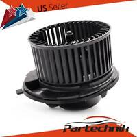 HVAC Heater Blower Motor with Fan Cage for Volkswagen Tiguan CC Jetta Audi A3
