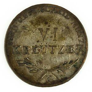 1804 GERMAN STATES FURTHER AUSTRIA 6 Kreutzer FOREIGN GERMANY COIN