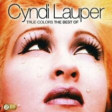 CYNDI LAUPER ( NEW 2 CD SET ) TRUE COLORS VERY BEST OF / GREATEST HITS (COLOURS)