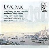 """Dvorák: Symphony No.9 """"From the New World"""": Symphonic Variations, , Very Good"""