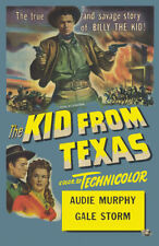 "AUDIE MURPHY"" THE KID FROM TEXAS""   DVD     1950"