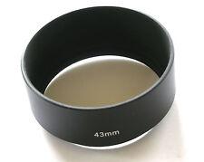 VITE in metallo per cappuccio OBIETTIVO 43mm LENS SHADE 20mm Deep