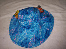 Sloggers Womens Bucket Hat,Tulip Blue Reversible Hat,Cotton/Polyester, Hats