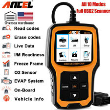 ANCEL OBD2 Code Reader Scanner Fault Engine Light O2 Sensor Test Diagnostic Tool
