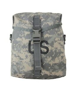 US Military SUSTAINMENT POUCH - ACU Camo MOLLE - VGC