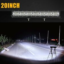 648W 20 Inch LED Work Light Bar Flood Spot Combo Driving Lamp Car Truck Offroad
