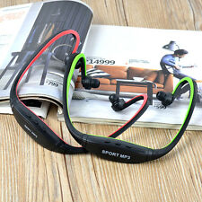 Usb 2.0 Mini Sport Headset Music Mp3 Player Support 16Gb Micro Sd
