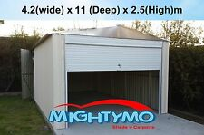 Garden Sheds 4.2x10.9M Storage, Workshop, Garage, Large steel sheds, Site shed