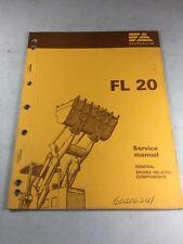 Fiat Allis Fl20 Crawler Loader General Engine Related Components Service Manual