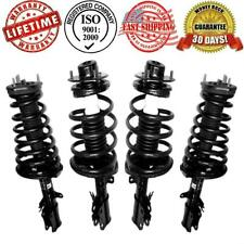 Front & Rear Strut Shock & Coil Spring Assembly Quick 4pc Kit W/Warranty