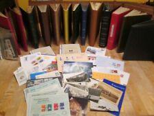 Wühlkiste mit 13 Alben und Belege (348)