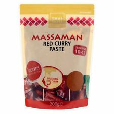 Thai Taste Massaman Pâte De Curry Rouge (200G)