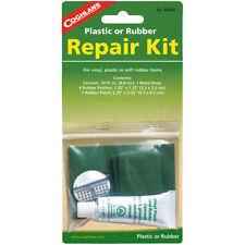 Coghlan's Kit de reparación de goma o plástico, incluye parches y .30 fl. OZ. cemento