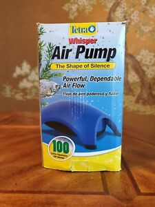 Whisper Air Pump Tetra Water Fish Tank Aquarium 100 Gallons Filter