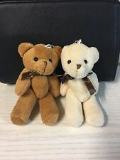 2 Pcs 5'' Lovely Small Soft Plush Animal Stuffed Teddy Bear Toys kids Gift 13cm
