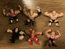WWF Grudge Match Mini Action Figure Lot Of 6 Titan Sports Playmates 1997
