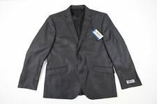 KENNETH COLE REACTION TECHNI COLE GRAY 42 LONG SUIT TOP JACKET BLAZER MENS NWT