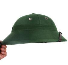 VIETNAM WAR ARMY HAT NVA VIETCONG VC PITH HELMET GREEN-33524