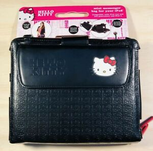 Hello Kitty iPad Messenger Bag With Strap And Extra Pockets New With Tags
