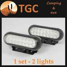 PAIR LED REAR WORK FLOOD OFF ROAD LAMP REVERSING LIGHT TRUCK 12V  UTE