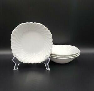 Johnson Bros REGENCY (ENGLAND) 4 Square Soup Bowls EXCELLENT