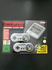 New Nintendo Classic Mini: (SNES) Super Nintendo Entertainment System UK Seller