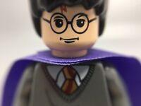 LEGO Minifigure (hp051) HARRY POTTER of Set 4751 Marauder's Map-Violet Cape-MINT