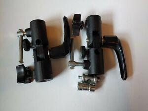 Lot of 2 Manfrotto 026 Swivel Umbrella Adapter