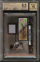 2008 Bowman Sterling Jesus Montero Rookie RC Jersey BGS 9.5 Autograph 10 Auto 06