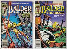 Balder The Brave #1,2 1985 Lot of 2 Marvel Comics Fall Sale !
