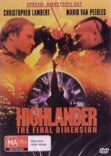 HIGHLANDER 3 THE FINAL DIMENSION - LAMBERT - NEW DVD
