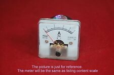 1PC AC 3A Analog Ammeter Panel AMP Current Meter 50*50mm 0-3A