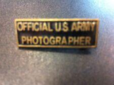 Badge  Photographe US  3cm en reproduction  ATTACHE BROCHE