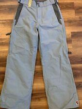 Burton DryRide Snowboard Snow Pants Women Size XS Biolite Gray/blue