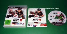 NHL 11 fuer Sony Playstation 3 PS3 mit Anleitung und OVP